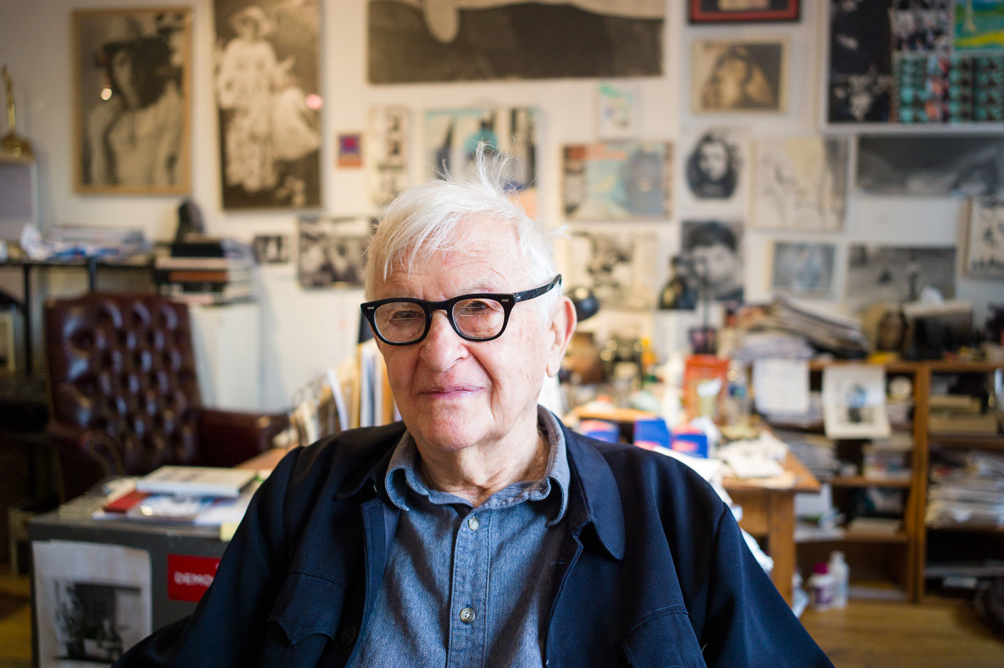 jon pack, photographer | albert maysles | portrait