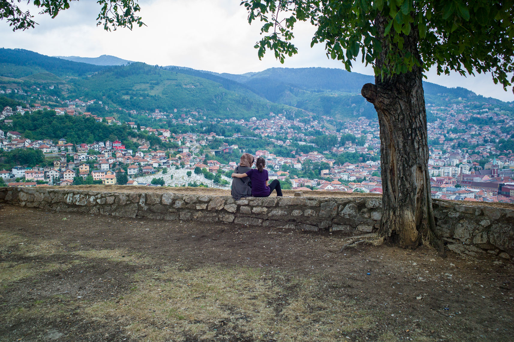 jon pack, photographer | the olympic city | sarajevo | sisters