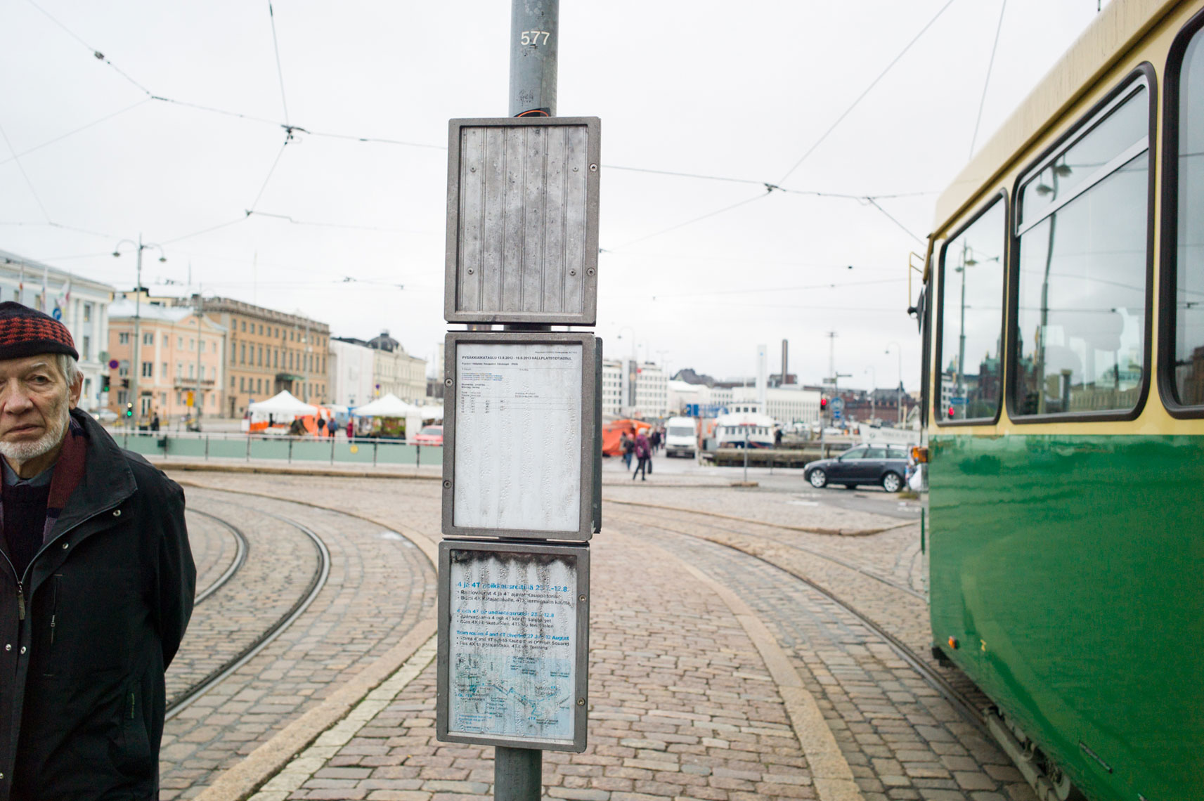 jon pack, photographer | the olympic city | helsinki, finland | tram stop