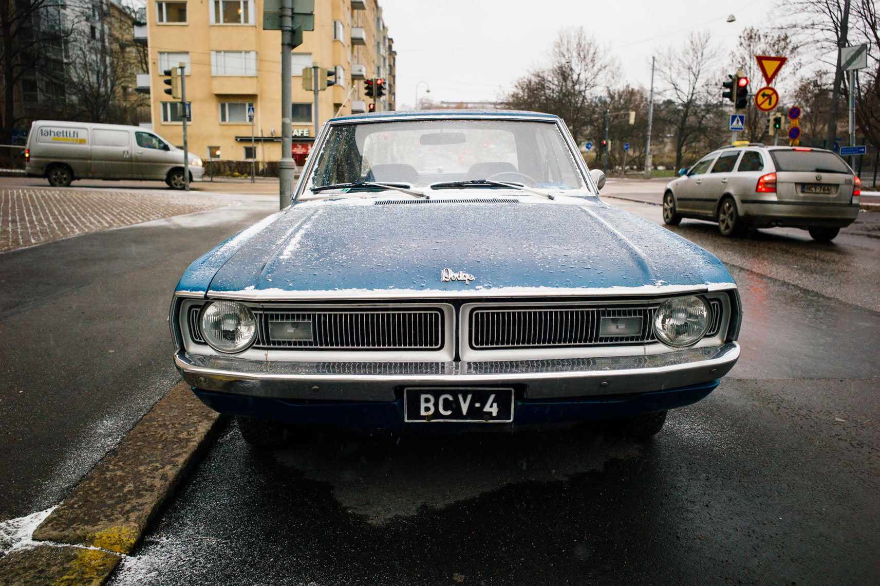 jon pack, photographer | the olympic city | helsinki, finland | car