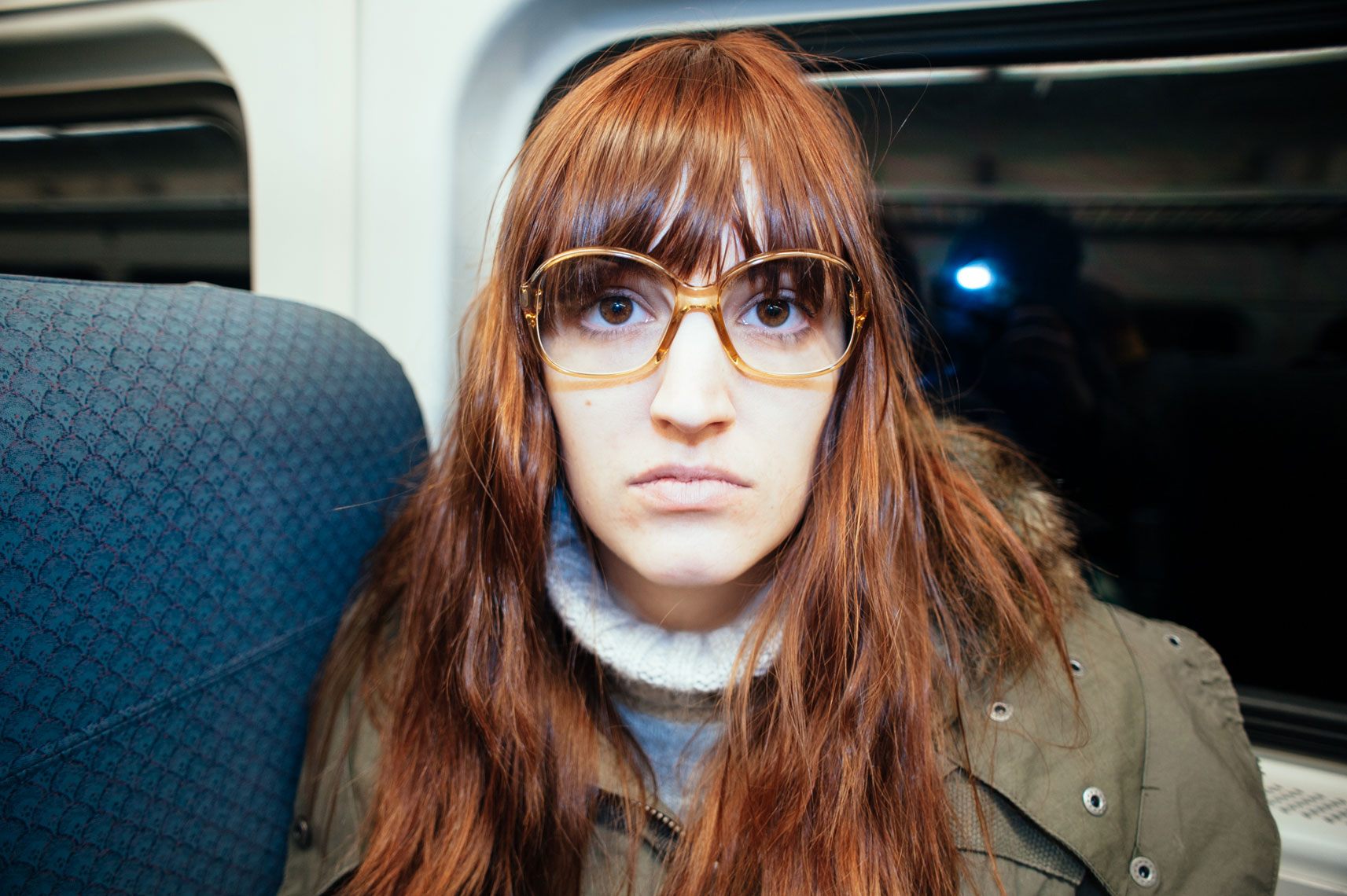 jon pack, photographer | portrait | jayna | train
